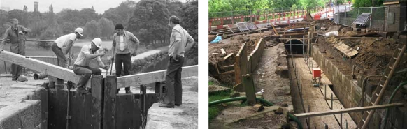 Canal Restoration 1980 and 2000 by John Widdall