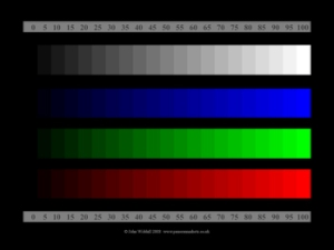 Colour Test Card © John Widdall